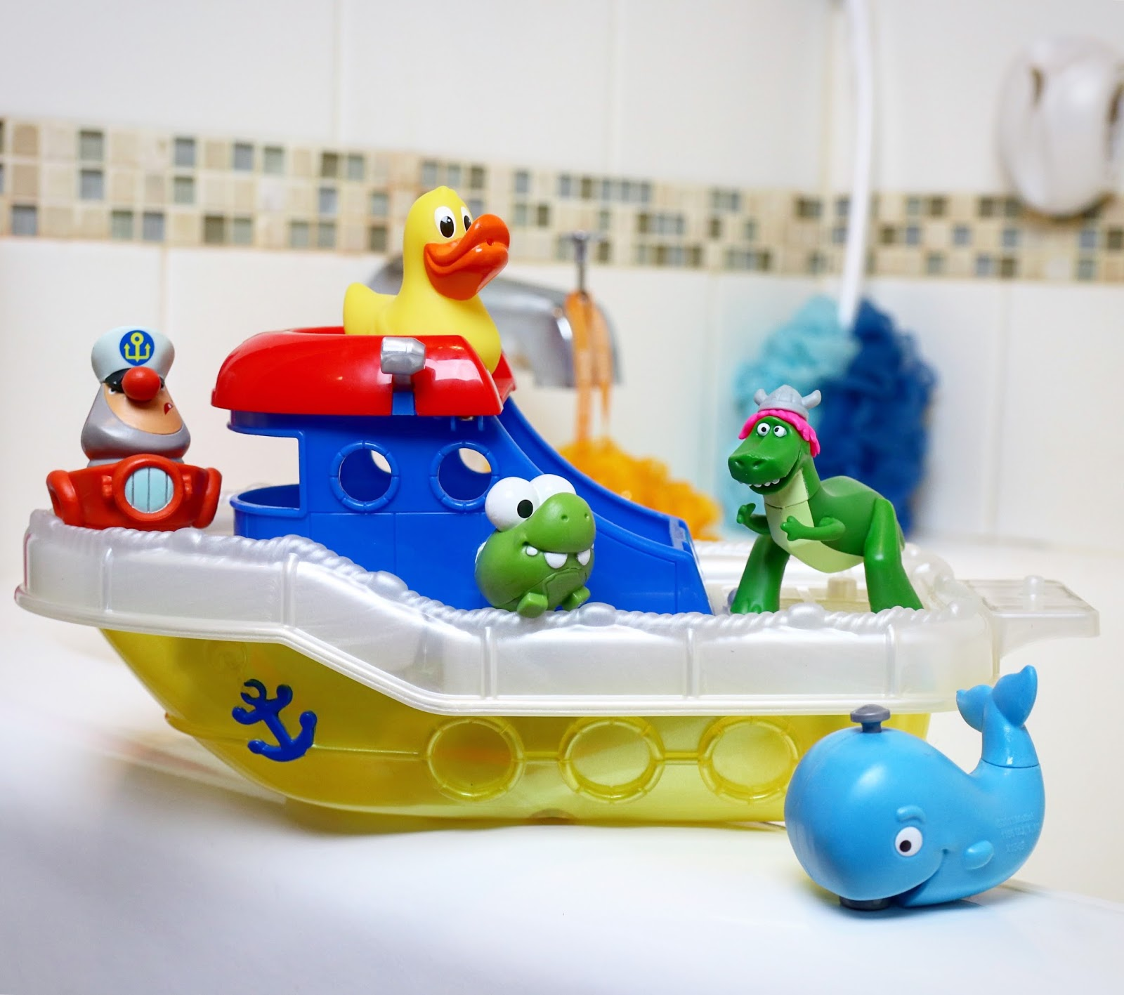 toy story partysaurus rex bath time buddies figures