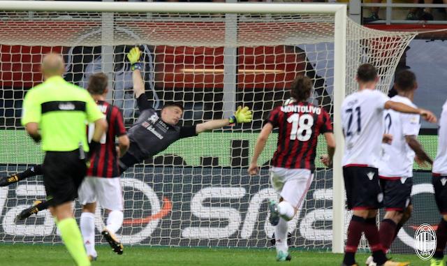 Cuplikan Pertandingan AC Milan 2-1 Cagliari 28 Agustus 2017