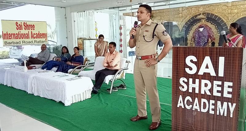 Ratlam-News-प्रोजेक्ट पहल के तहत साईं इंटरनेशनल स्कूल में बैठक आयोजित