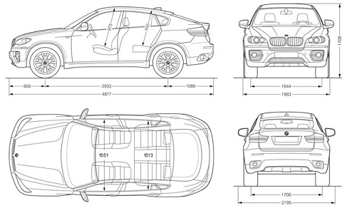 Fast & Furious Cars: BMW Active Hybrid X6