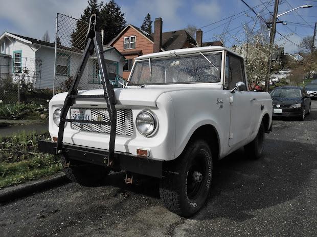 1962 International Scout 80 Pick Up