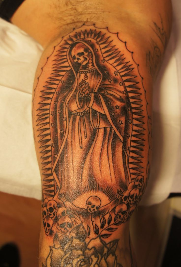 Tatuajes de la santa muerte significado y su historia belagoria la web de los tatuajes - Santa muerte tatouage signification ...