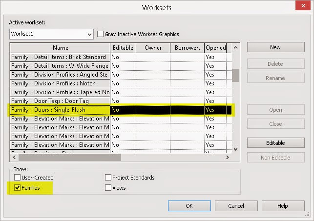 Revit OpEd: Lock Down a Family