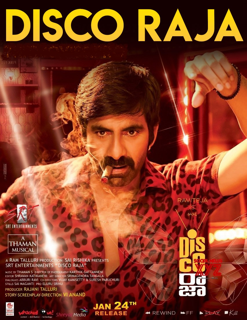 DISCO RAJA (2020) Full Movie Hindi Subs 720p HDRip [in Telugu] ESubs