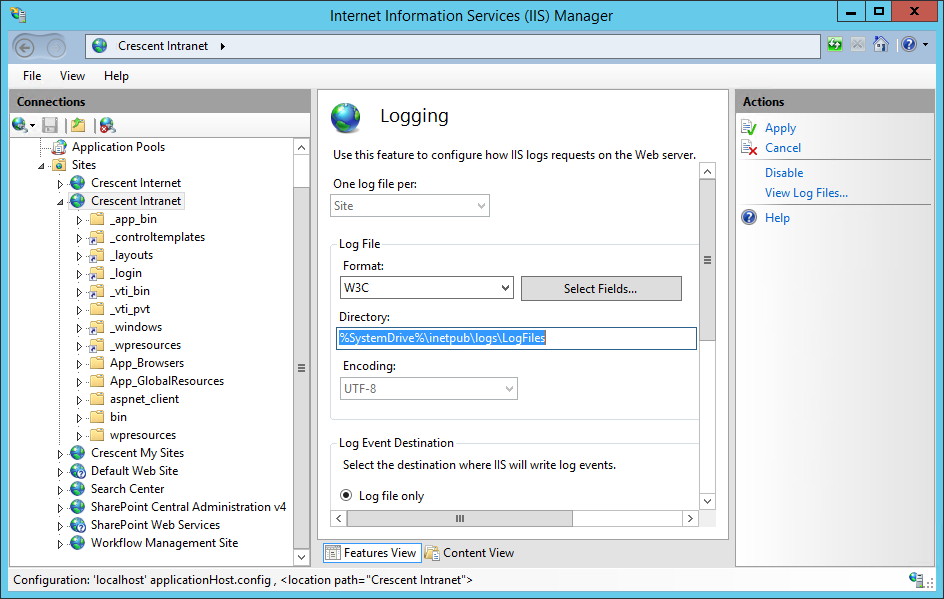 PowerShell to archive IIS ULS Log Files in SharePoint