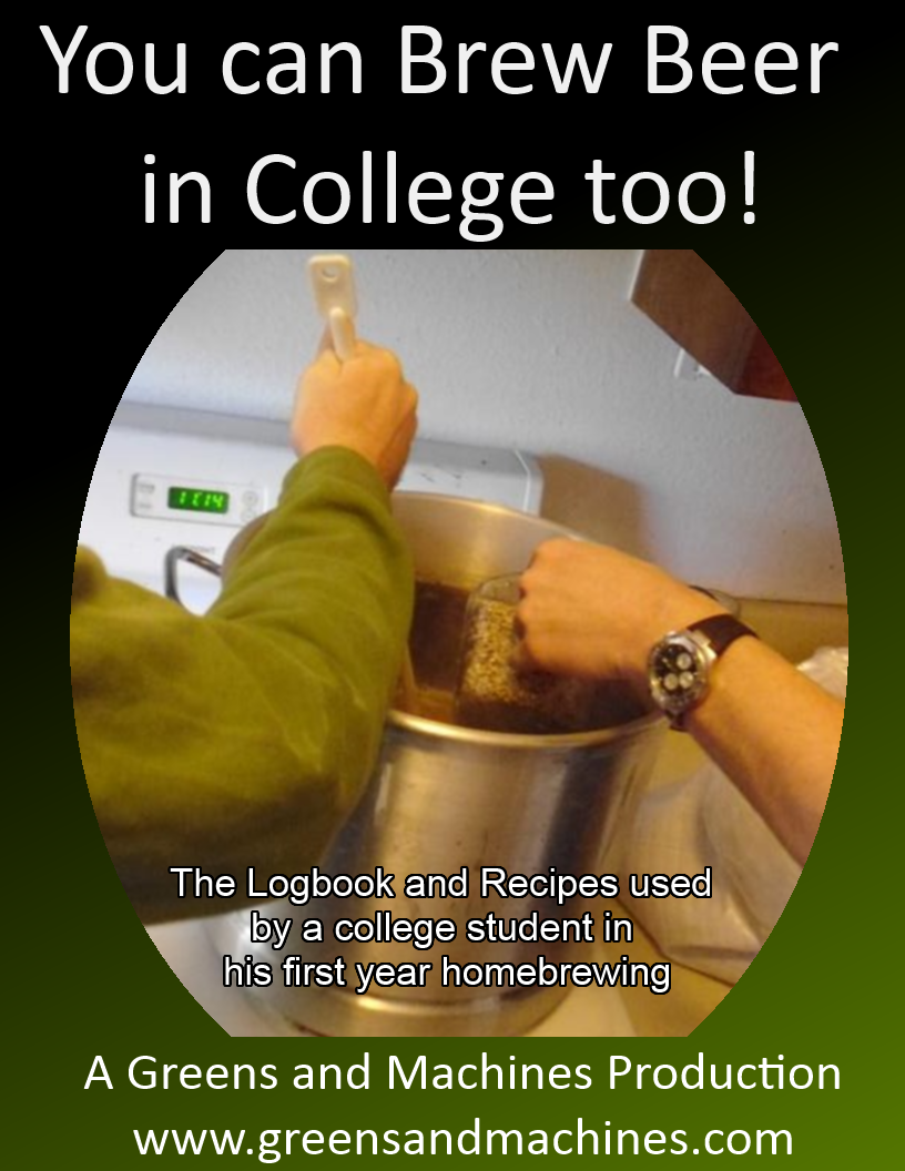 You can Brew Beer in College too! cover