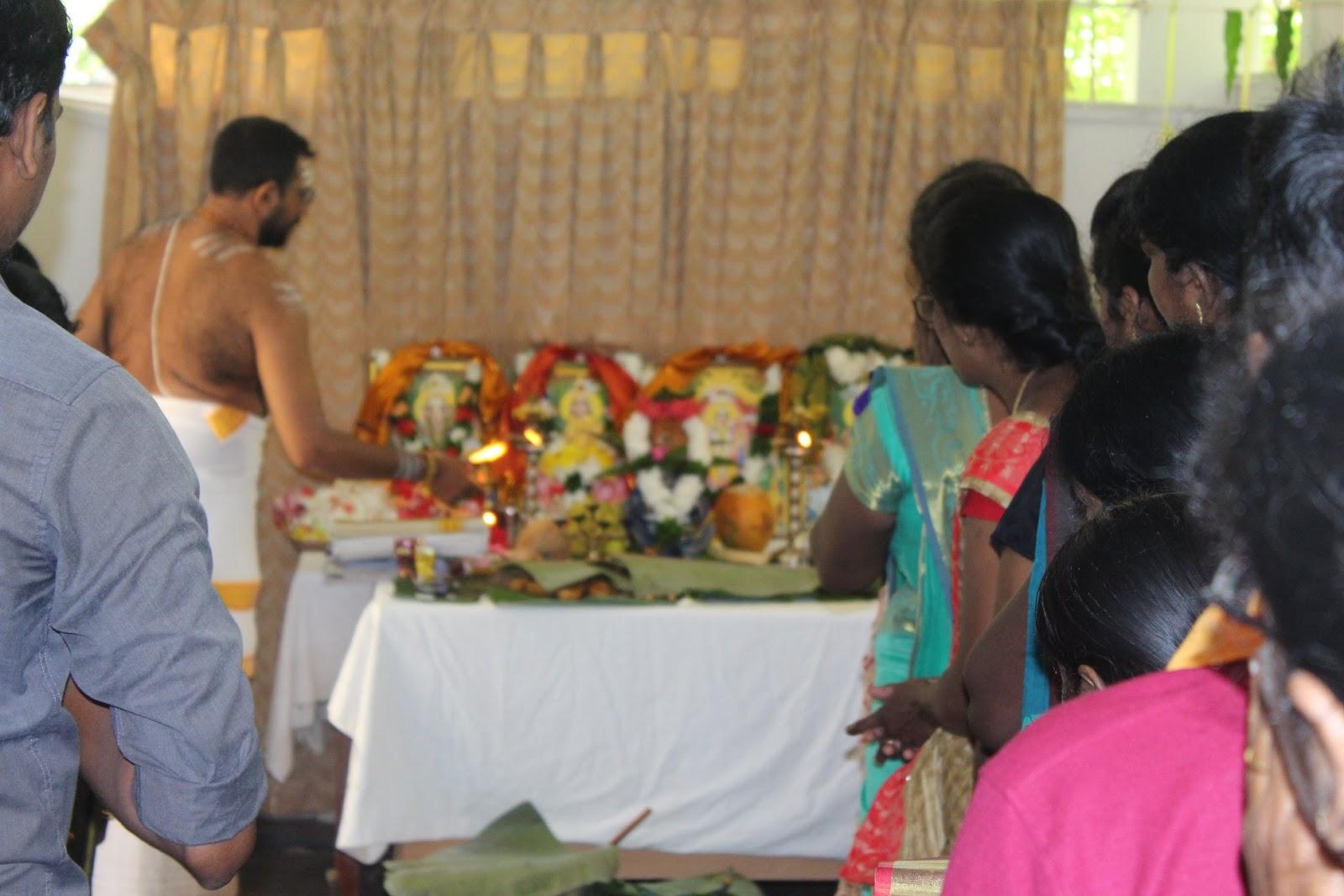 மகளிர் விவகார அமைச்சின் அலுவலகத்தில் இன்று இடம்பெற்ற நவராத்திரி விழா!