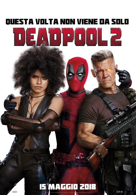 Deadpool 2 International One Sheet Teaser Movie Poster
