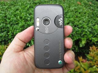 Hape Jadul Sony Ericsson W850