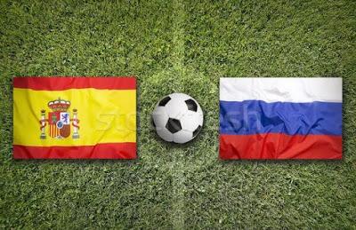 موعد مباراة أسبانيا وروسيا من الدور الـ16 من كأس العالم و القنوات الناقلة