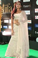 Prajna Actress in backless Cream Choli and transparent saree at IIFA Utsavam Awards 2017 0049.JPG