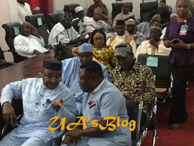 Saraki, Ortom, Tambuwal, Kwankwaso, others at PDP NEC meeting in Abuja [PHOTOS]