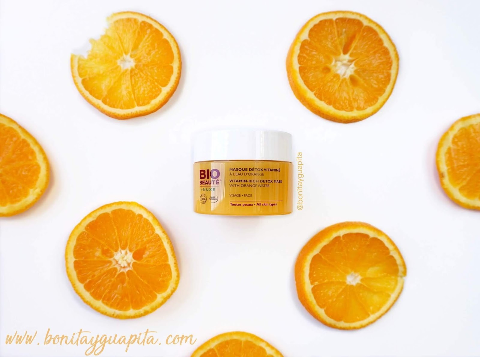 Mascarilla Detox Vitaminada BIO BEAUTE by NUXE