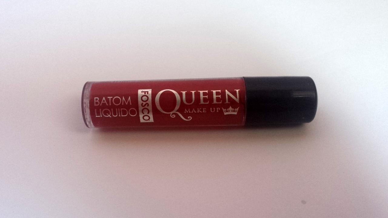 batom vermelho queen make up