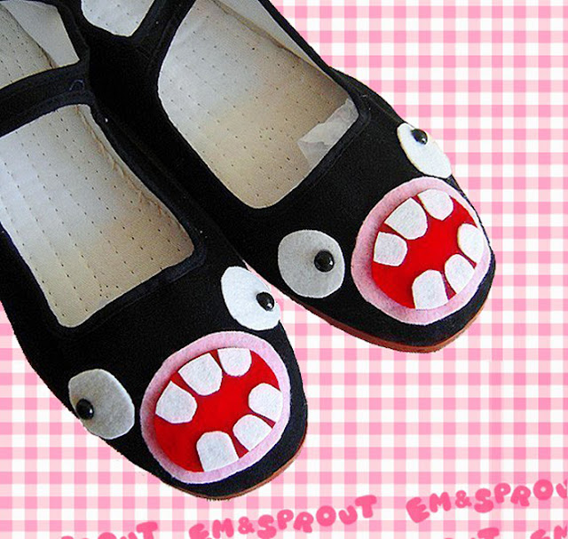 http://www.shoe-tease.com/wp-content/uploads/2014/01/Freak-Shoe-Friday-EmandSprout-Googley-Eyed-Monster-Face-Mary-Jane-Shoes.jpg