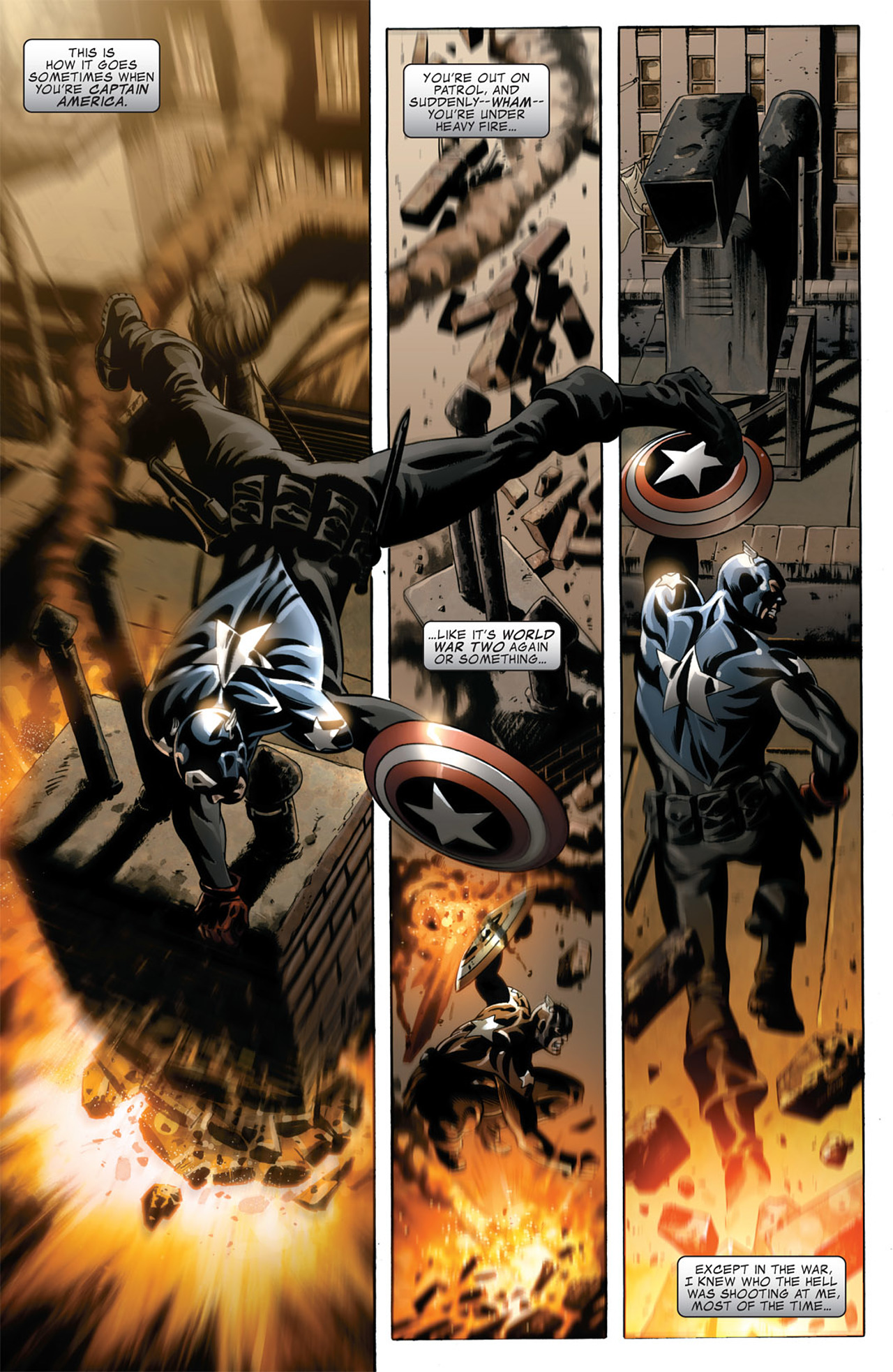 Read online Captain America (2005) comic -  Issue #50 - 3