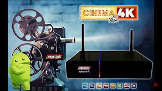 ATUALIZAÇÃO PHANTOM CINEMA 4K - V2.02.823 - 30/08/2018
