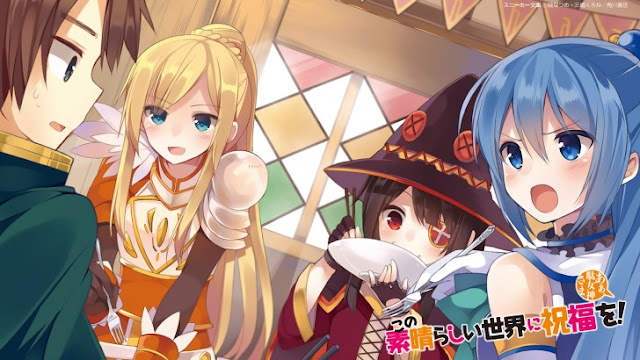 KonoSuba: Confirmado nuevo proyecto de anime
