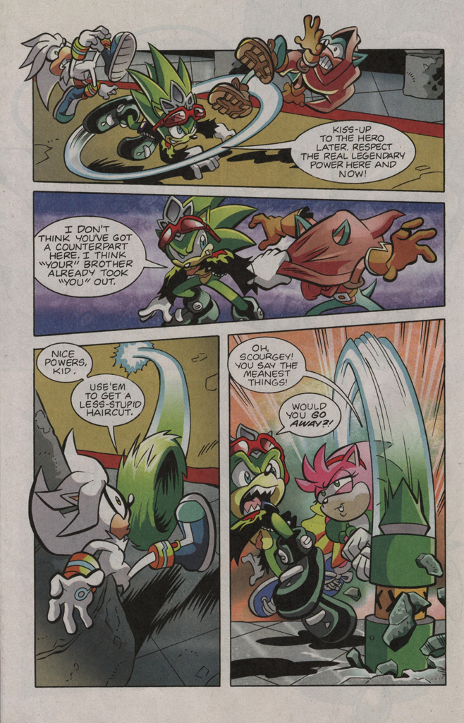 Read online Sonic The Hedgehog comic -  Issue #195 - 20