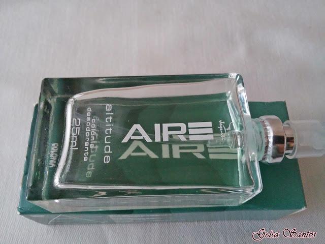 Comprei e gostei: Colônia Desodorante Aire altitude - Jequiti