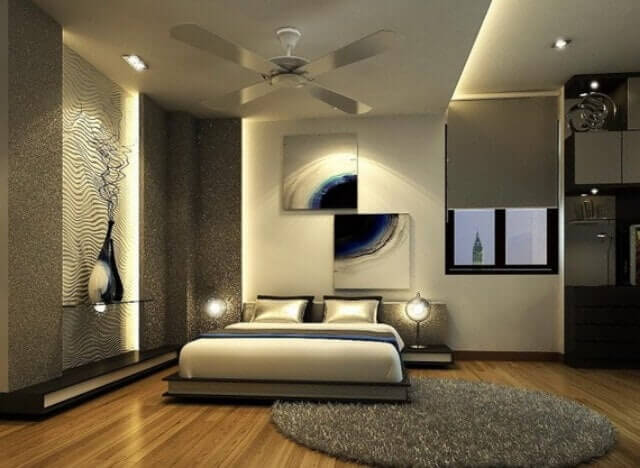 Romantik yatak odası dekorasyon örnekleri 4