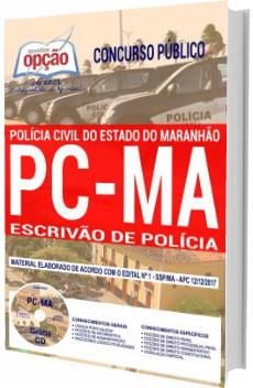Apostila Concurso PC-MA 2018 Escrivão de Polícia