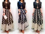 Maxi Denim Bunga SOLD OUT
