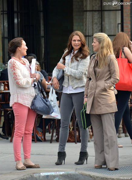 Princess Madeleine of Sweden has been seen in New York with  her friends