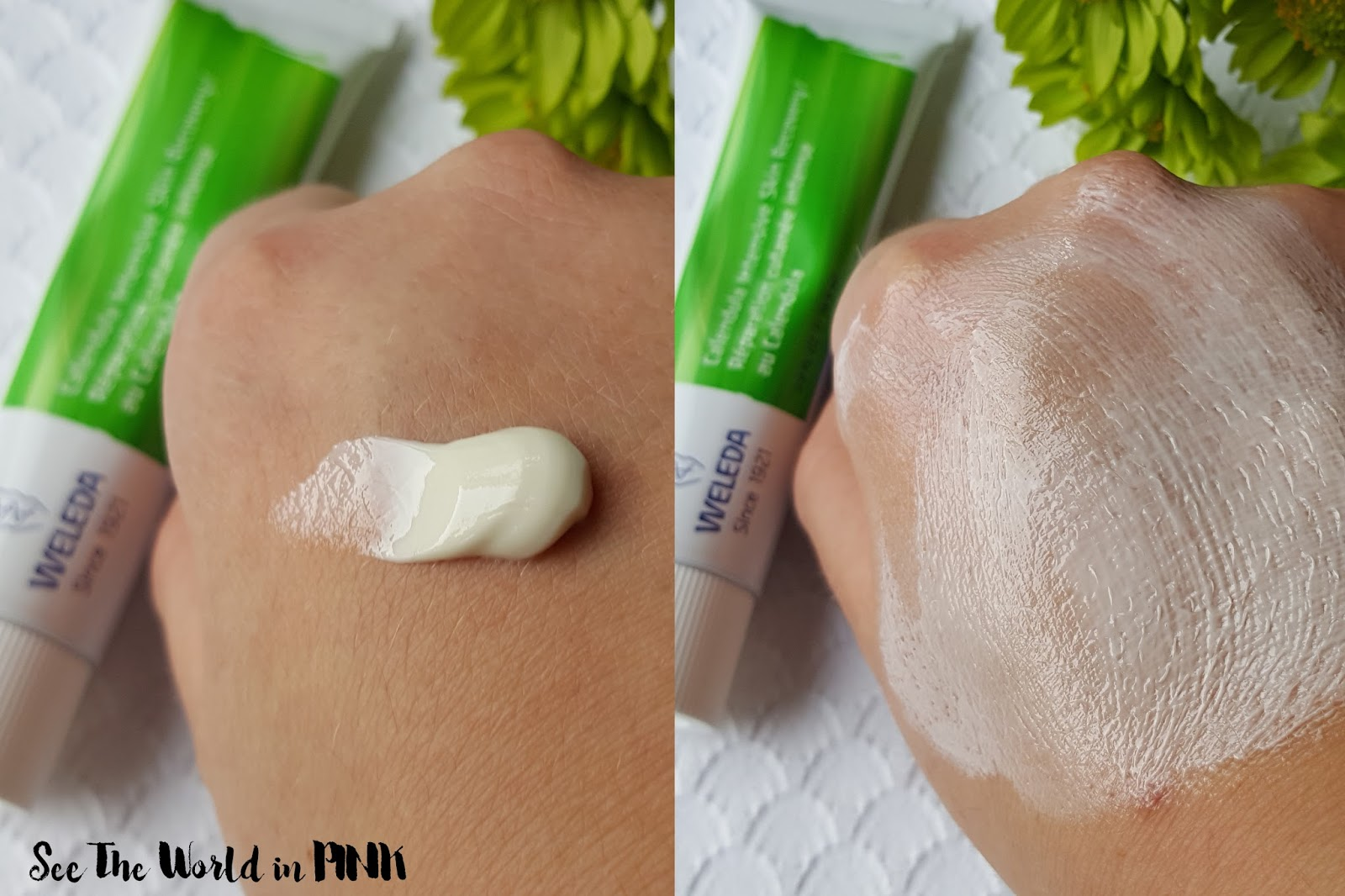 Skincare Sunday - Weleda Calendula Intensive Skin Recovery Cream Review