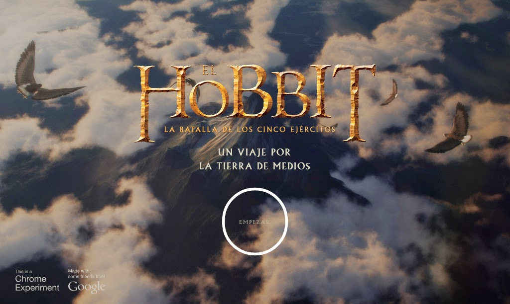 http://middle-earth.thehobbit.com/