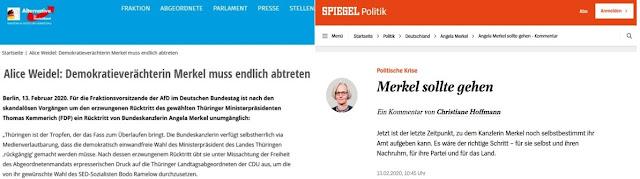 Merkel AfD Spiegel