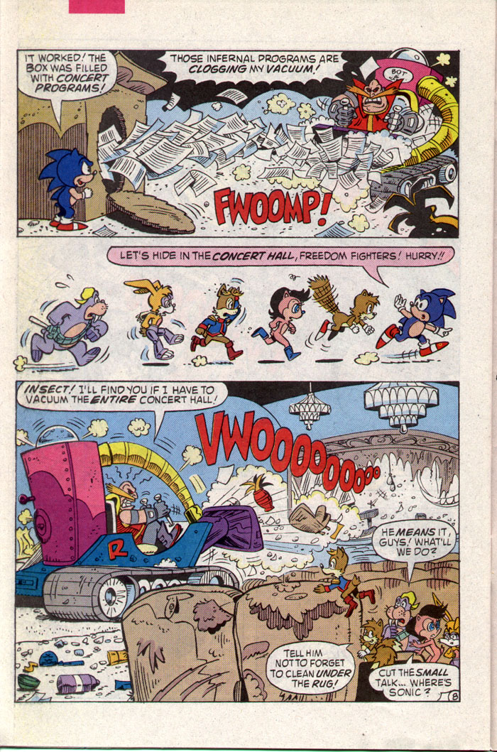 Read online Sonic The Hedgehog comic -  Issue #8 - 21