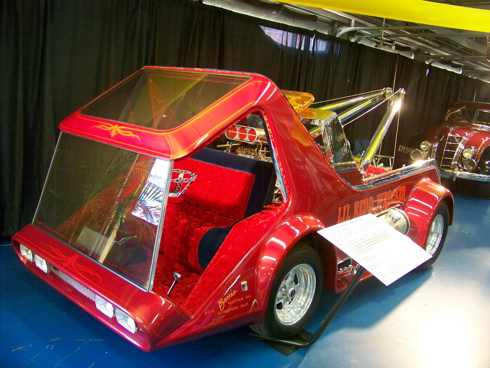Mini Trophy Truck >> kustom paint by Perry's: showrod sunday ''lil red wrecker''