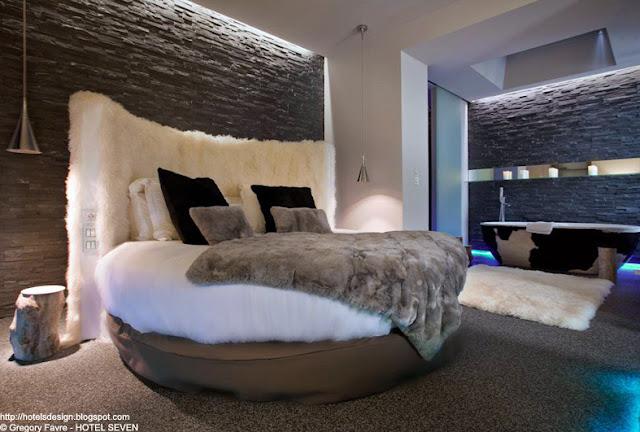 Les plus beaux hotels design du monde h tel seven by - Les plus beaux plafonds du monde ...