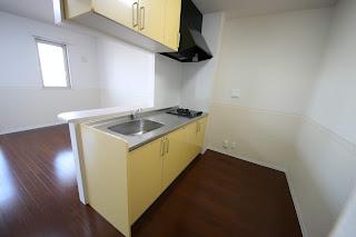 徳島市 二軒屋 オートロック 1LDK 居室 キッチン