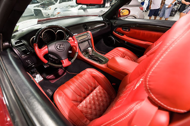 Mark Yuen's 2002 Lexus SC430 convertible