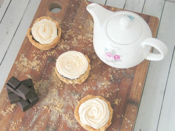 Pastelitos de berenjena y chocolate