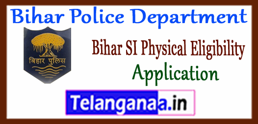 Bihar Police Department Daroga SI Male Female Eligibility Application 2017 Physical Test