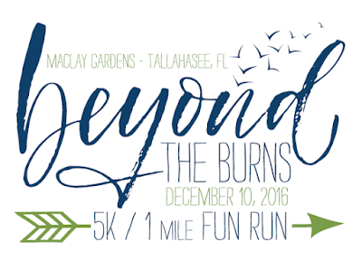 2016 Beyond The Burns 5K logo