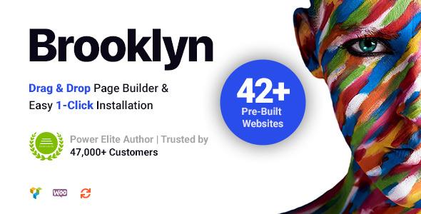 Brooklyn v4.9.1.1 - Creative Multipurpose Responsive WordPress Theme