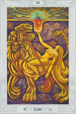 Lust XI Thoth Tarot Atu