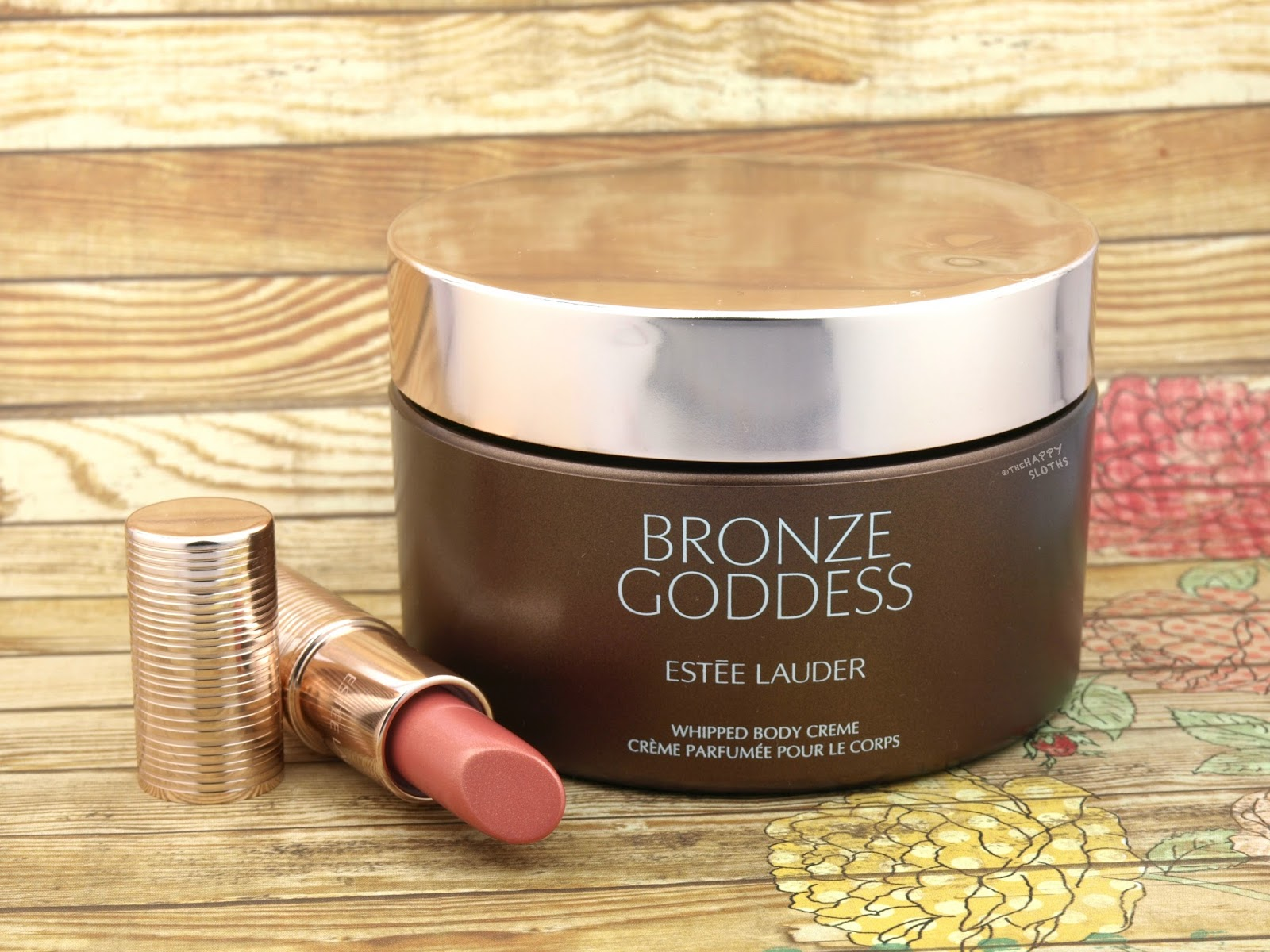 Estee Lauder Bronze Goddess Whipped Body Creme & Summer Lip Glow: Review and Swatches