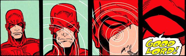 Daredevil detecta a los dobles con sus sentidos