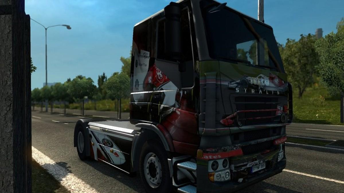 Iveco Stralis AlfaRomeo Sauber F1 skin
