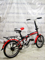 Sepeda Lipat Darson 16-2026 Single Speed 16 Inci
