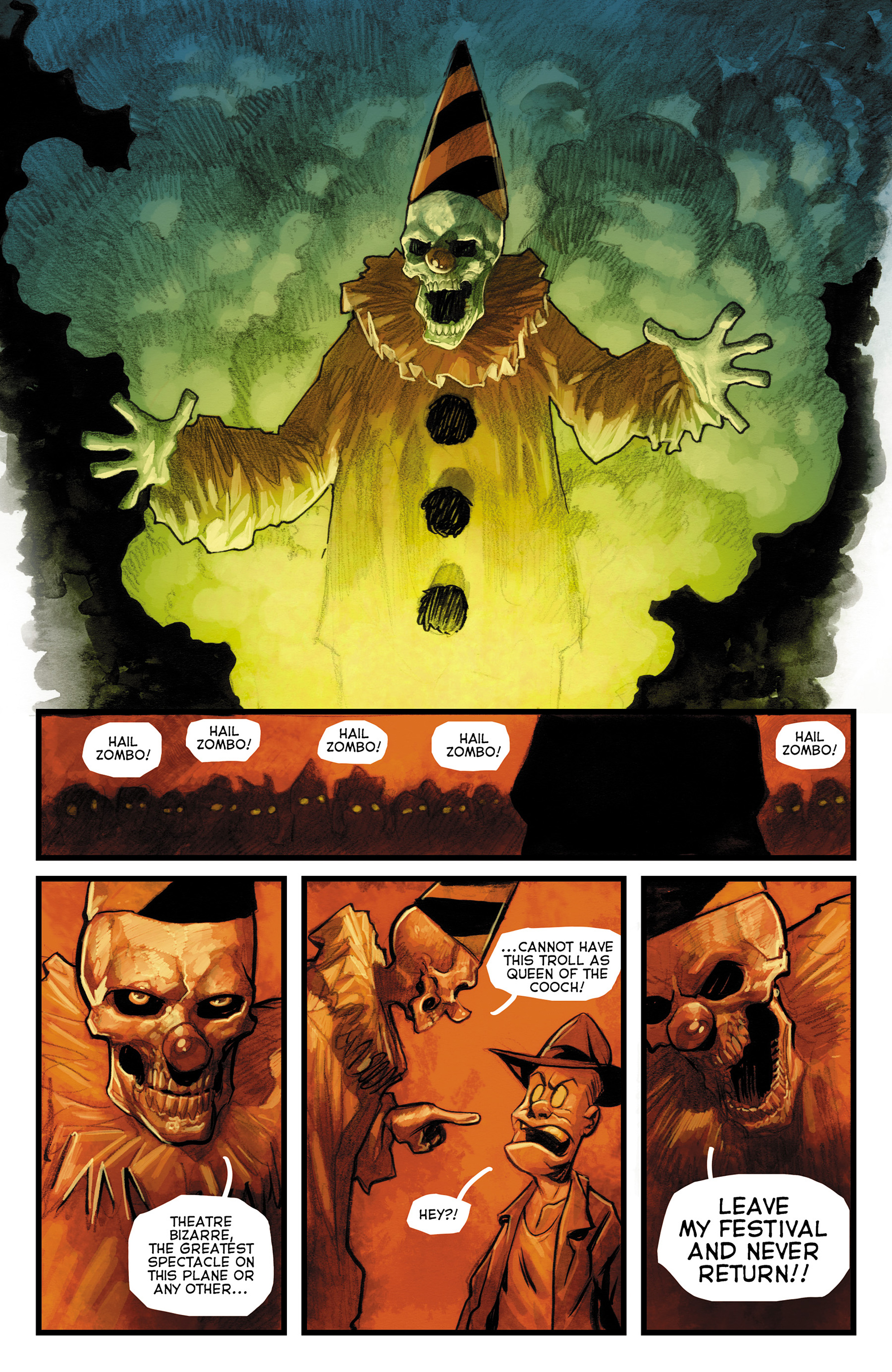 Read online The Goon: Theatre Bizarre comic -  Issue # Full - 19