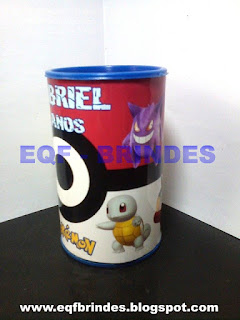 cofrinho pokemon, pokemon, cofrinho, brinde pokemon, lembrancinha pokemon, festa pokemon, tema pokemon
