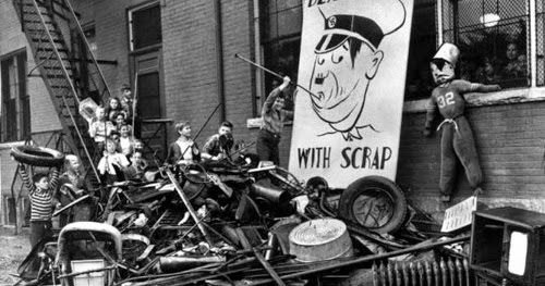 Guest Post: Cash for Trash: The Scrap Metal Story of World War II
