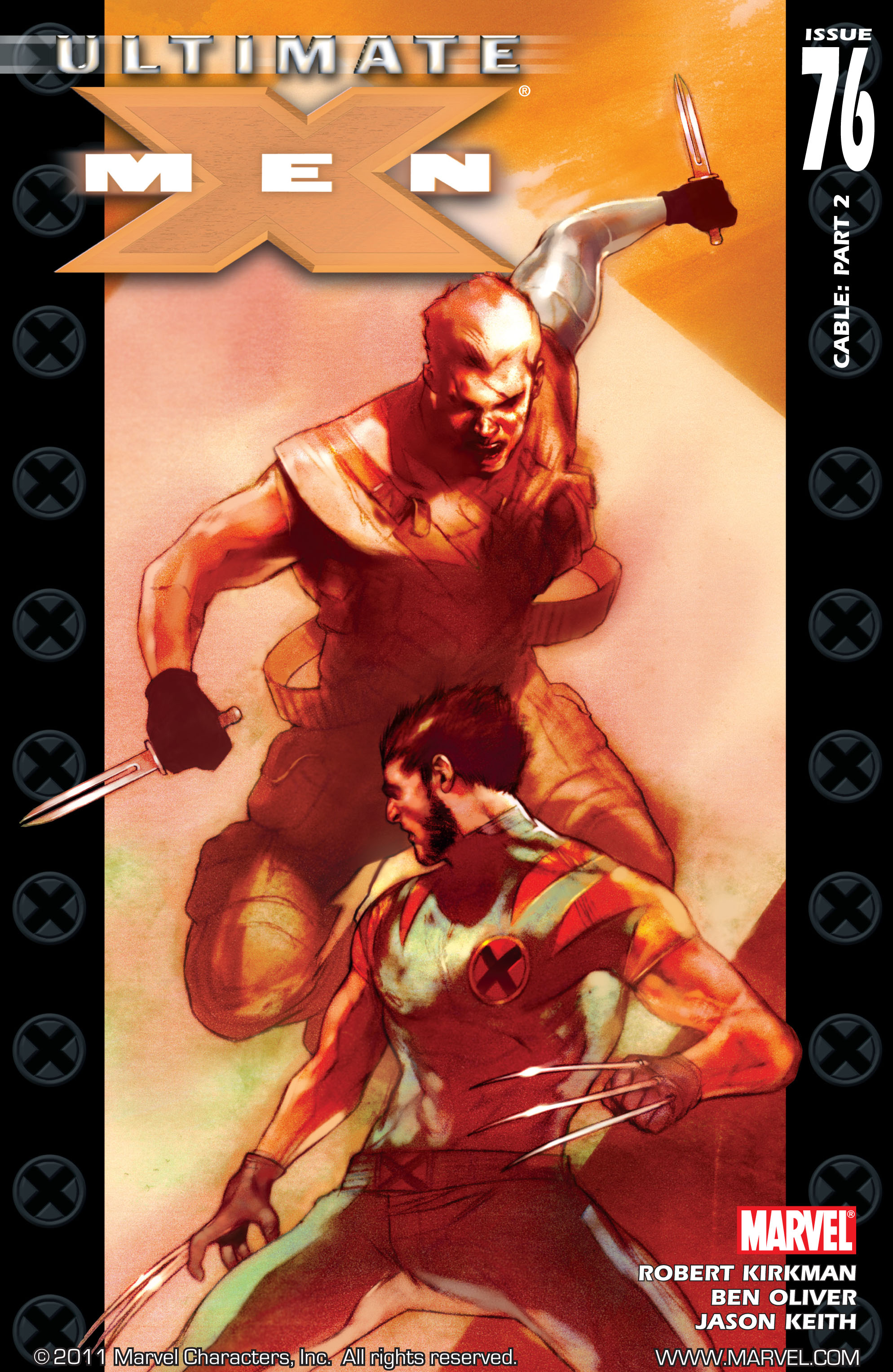 Read online Ultimate X-Men comic -  Issue #76 - 1