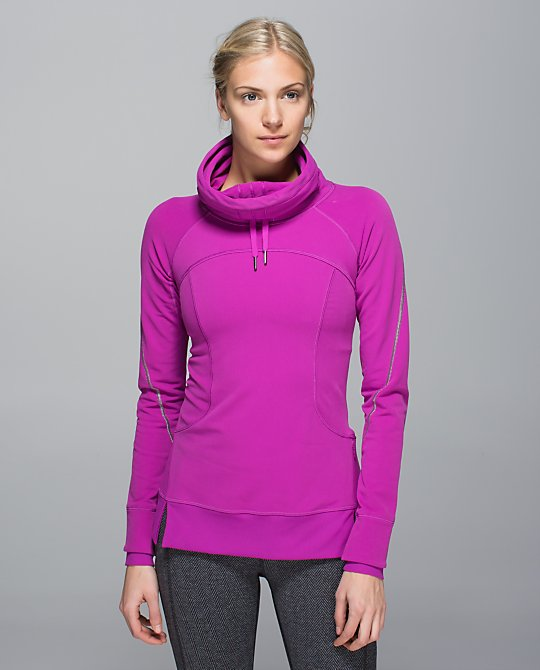 lululemon flurry fighter pullover ultraviolet